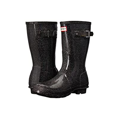 Hunter Original Starcloud Short Rain Boots (Black Multi) Women