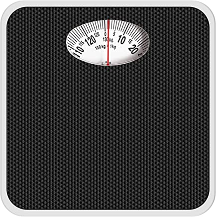 Venus Analogue Mechanical Body Weight Weighing Scale (Black)