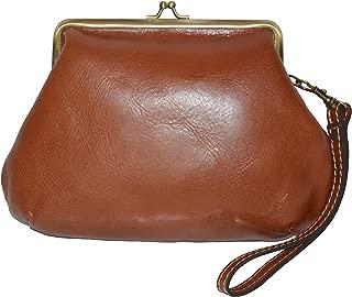 Patricia Nash Tooled Leather Savena Framed Kisslock Wristlet Wallet