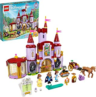 LEGO 43196 Disney Belle en het Beest Speelgoed Kasteel uit de Film Belle en het Beest met Prins en Prinses Pop