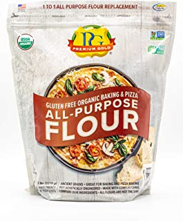 Premium Gold Baking & Pizza Flour, 5 Pound (Package May Vary)