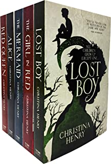 Christina Henry Chronicles of Alice 5 Books Collection Set - Lost Boy, Red Queen, The Mermaid, Alice, Girl in Red