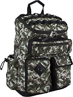 Multi-Pocket Cargo Backpack with High Capacity Top-Loader Entry