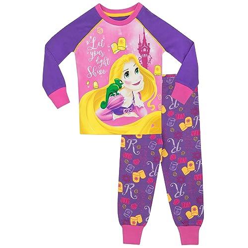 Disney Princess Girls  Tangled Rapunzel Pajamas fded9b354