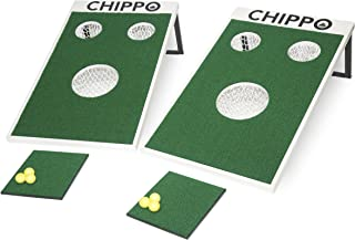CHIPPO - Golf Meets Cornhole! The Revolutionary New Golf Game for The Beach, Backyard, Tailgate, Clubhouse, Office and Man...