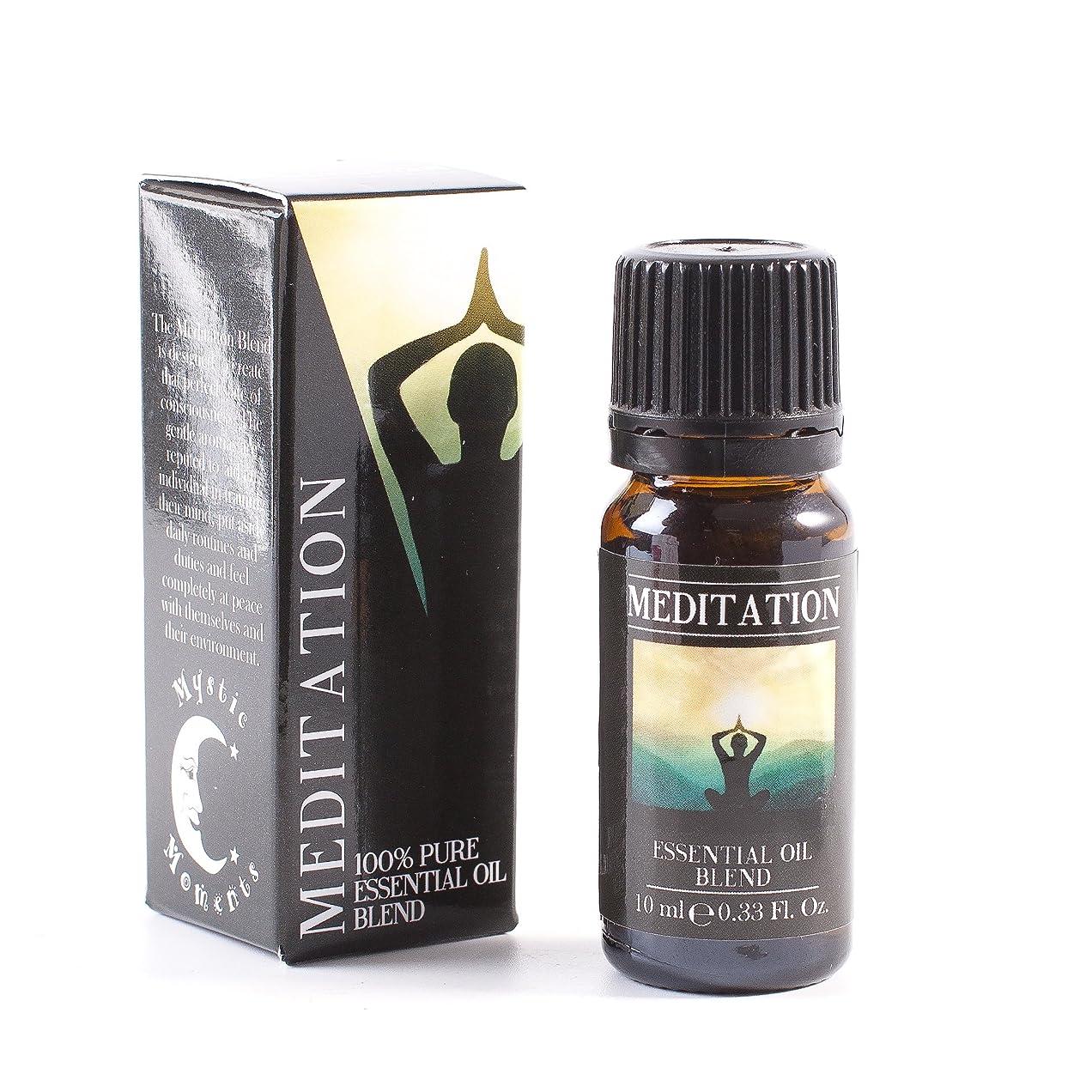 漁師サラミ対応Mystic Moments   Meditation Essential Oil Blend - 10ml - 100% Pure