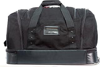 حقيبة سفر بعجلات من القماش الخشن الفاخر من موبايل إيدج