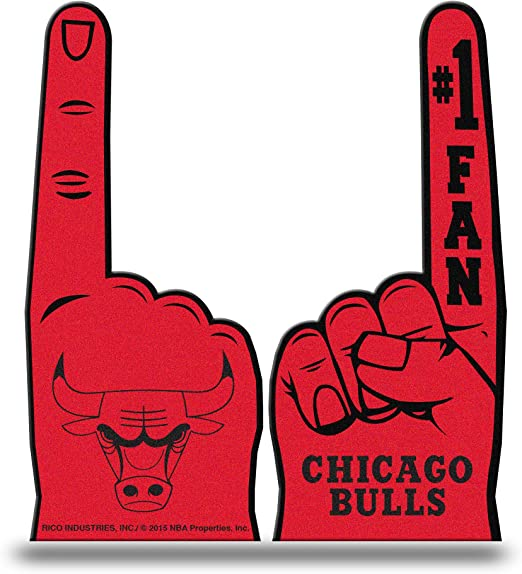 Nba Rico Chicago Bulls 1 Fan Foam Finger Bekleidung