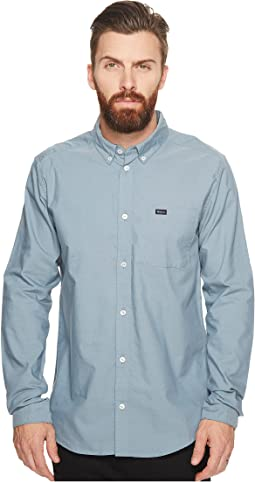 RVCA That'll Do Oxford L/S
