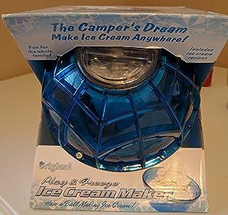 ボールアイスクリームメーカーを再生し、フリーズ - パープル