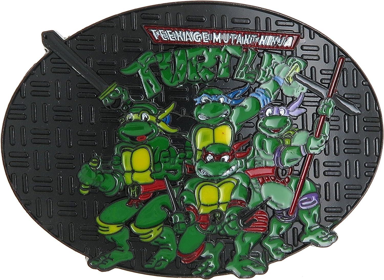 TMNT Teenage Washington Mall Mutant Ninja Buckle Turtles Max 59% OFF Belt