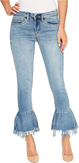 Blank NYC Belle Bottom Denim in Fancy That