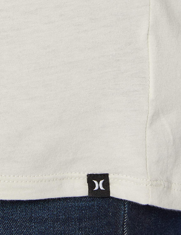 Hurley M Jammer Stripe L//S T-Shirt Uomo