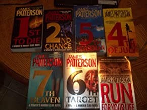 James Patterson Books, LOT, Women's Murder Club (Women's Murder Club Series, books 1,2,4,5,6 and 7. Also Run For Your Life...