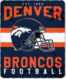 """Northwest NFL 50 """"door 60"""" Denver Broncos Singular 50 60"""" Gedrukt Fleece Gooi"""