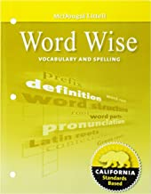 McDougal Littell Literature: Word Wise: Vocabulary and Spelling Grade 06