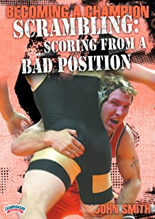 Championship Productions Becoming A Champion Wrestler: Scrambling - Scoring From A Bad Position DVD