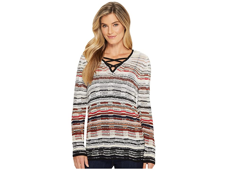 NIC+ZOE Red Hills Top (Multi) Women
