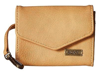 Roxy Silver Ocean Wallet (Camel) Wallet Handbags