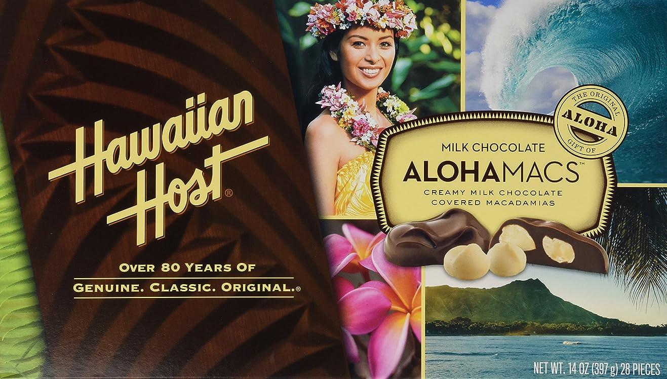 ファイアル引き出す滑りやすいハワイアンホスト アロハマックス マカダミアンナッツチョコ 397g 28粒