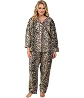 BedHead - Plus Size Notch Collar Pajama