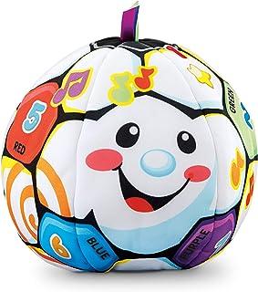 Fisher-Price Laugh & Learn Singin' Soccer Ball, Multicolor