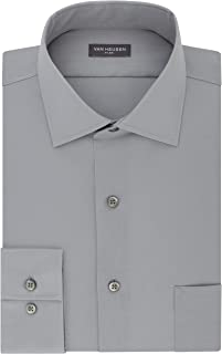 Van Heusen Men's Dress Shirt Regular Fit Flex Collar Stretch Solid
