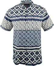 Tommy Bahama Men's Tobago Tiles Camp Shirt