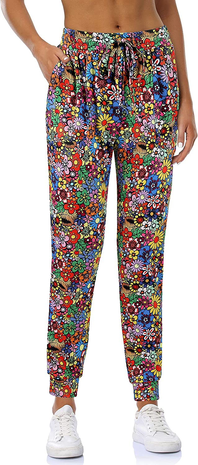 Fulbelle Womens Loose Running Joggers Sweatpants Lounge Pants with Pockets