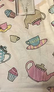 Cozy Baby Teapots Decorative Microplush Baby Throw 30