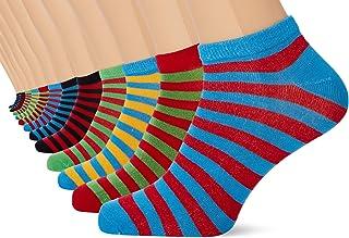 FM London Men's Bamboo Trainer Ankle Socks (pack of 12)