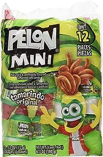 Mini Pelon Pelo Rico Tamarind Push up Candy, 12-Count, 6.3-Ounce Bag