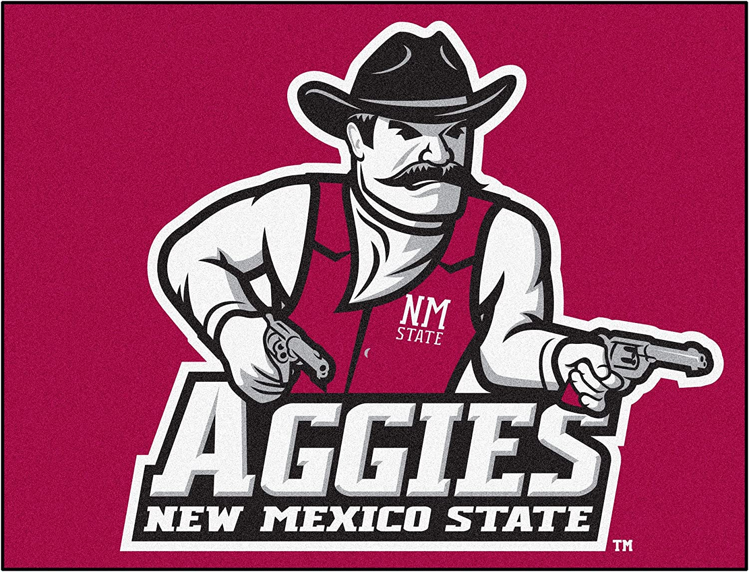 Fanmats 04223 New Mexico State University All-Star Rug
