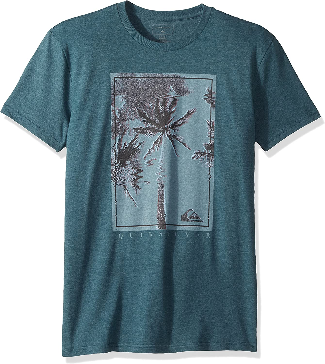 Quiksilver Mens Palm Shock Tee Shirt