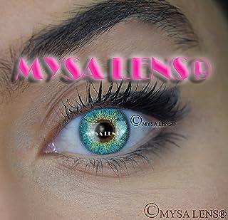 69b13ab278 MYSA LENS® Lentilles De Contact De Couleur Fantaisie Turquoise H-30 3 Ton +