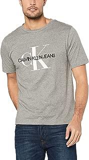 Calvin Klein Jeans Men's Monogram Embroidery Regular Fit T-Shirt