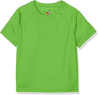 40115525fd985 Fruit of the Loom - New Kids Sport - T-Shirt - Mixte Enfant