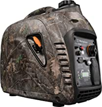 Westinghouse iGen2500 Super Quiet Portable Inverter Generator - TrueTimber Kanati Camouflage - 2200 Rated Watts and 2500 Peak Watts - Gas Powered - CARB Compliant (Renewed)