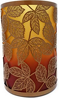 Yankee Candle New Amber Leaves Autumn Jar Candle Holder 7