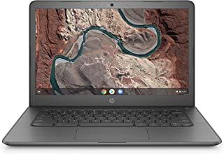 HP Chromebook 14-inch Laptop with 180-Degree Swivel, AMD Dual-Core A4-9120 Processor, 4 GB SDRAM, 32 GB eMMC Storage, Chrome OS (14-db0020nr, Chalkboard Gray)
