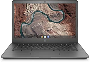 HP Chromebook 14-inch Laptop with 180-Degree Swivel, AMD Dual-Core A4-9120 Processor, 4 GB SDRAM,...