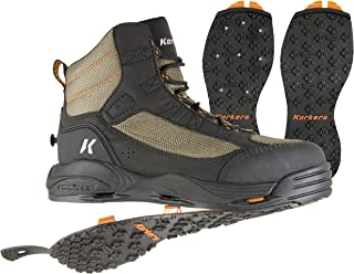 Korkers Greenback Wading Boot with Kling-On & Studded Kling-On Soles