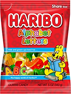 haribo gummy bear flavors and colors