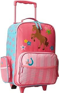 Stephen Joseph Classic Rolling Luggage, Girl Horse, One Size