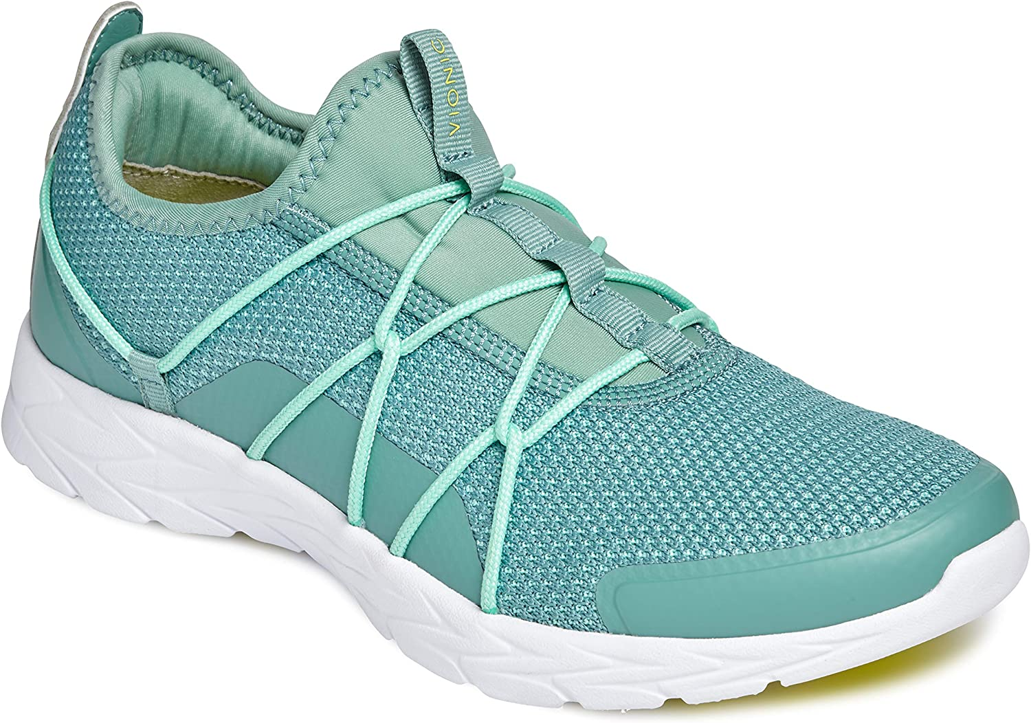 Vionic Womens Brisk Jada Slip-on Walking Shoes Ladies Active Sneakers with Concealed Orthotic Arch Support