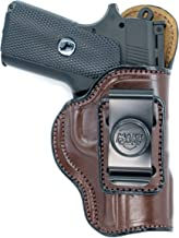 """Right Hand Brown Leather IWB Inside Pants Holster for KIMBER PRO RAPTOR II 4/"""""""
