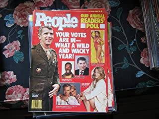 People Weekly (PEOPLES Annual Readers' Poll...Oliver North , Donna Rice , Cybill Shepherd, July 27 , 1987)