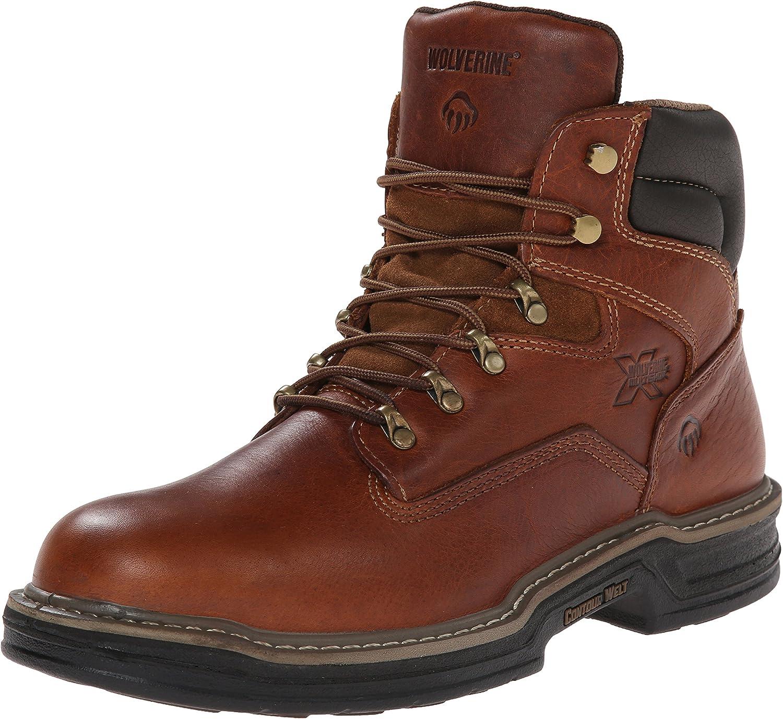 "Amazon.com | WOLVERINE Men's Raider 6"" Work Boot | Industrial &  Construction Boots"
