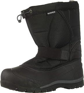 Northside Kids' Zephyr Snow Boot, Onyx, 10 Medium US Toddler