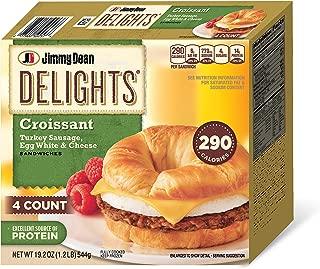 Jimmy Dean, Delights Turkey Sausage Croissant, 4 ct (frozen)
